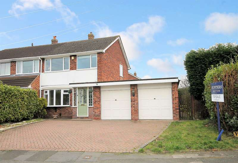 3 Bedrooms Semi Detached House for sale in Yorksand Road, Fazeley, Tamworth, B78 3TA