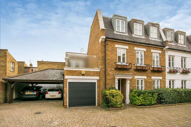 4 Bedrooms House for sale in Rush Hill Mews, Clapham Common North Side, SW11