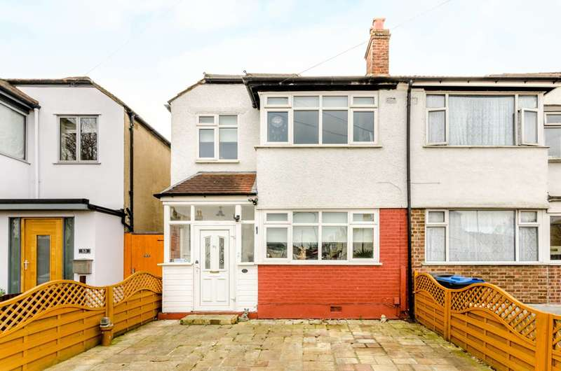 3 Bedrooms Semi Detached House for sale in Cromwell Avenue, New Malden, KT3