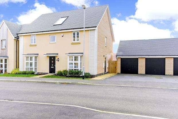 4 Bedrooms Detached House for sale in Lockgate Road, Pineham Lock, Northampton, NN4