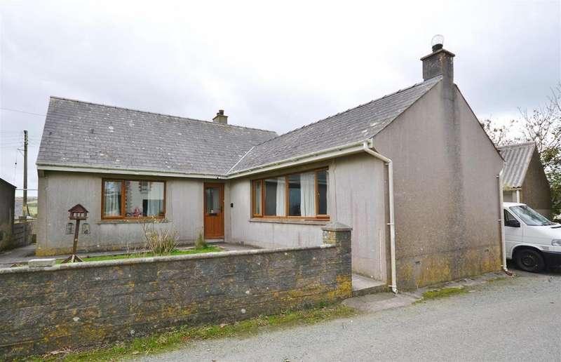 3 Bedrooms Detached Bungalow for sale in Trefin