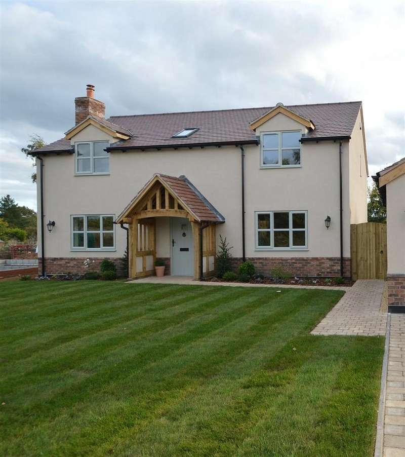 4 Bedrooms Detached House for sale in Wren Cottage, Booley Lane, Stanton Upon Hine Heath SY4 4DY