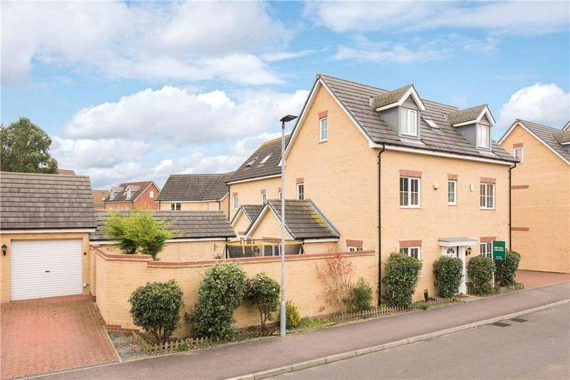 5 Bedrooms Detached House for sale in Maskell Drive, Bedford, Bedfordshire