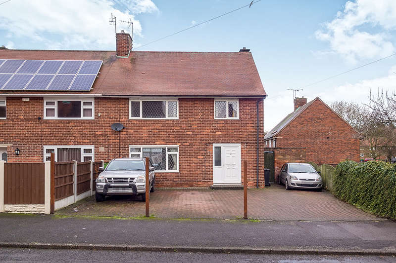 3 Bedrooms Semi Detached House for sale in Priory Road, Eastwood, Nottingham, NG16