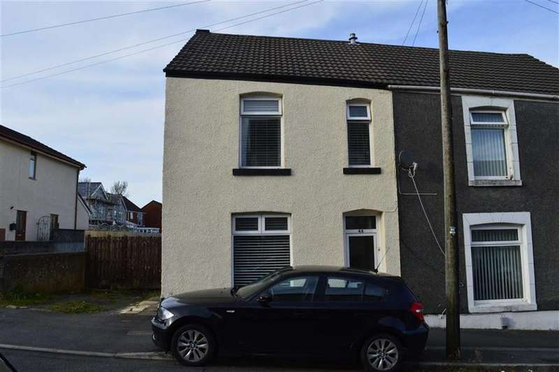 2 Bedrooms End Of Terrace House for sale in Roger Street, Swansea, SA5