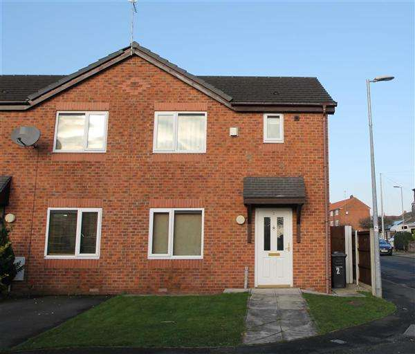 3 Bedrooms End Of Terrace House for sale in Peardale Close, Eccles