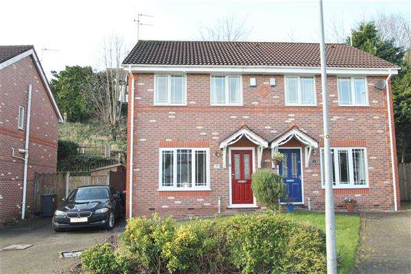 3 Bedrooms Semi Detached House for sale in Borderbrook Lane, Boothstown