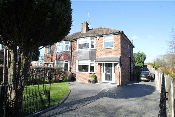 3 Bedrooms Semi Detached House for sale in Grange Road, Worsley