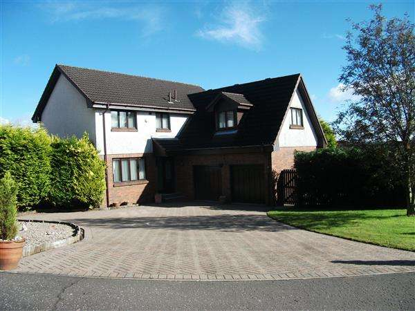 5 Bedrooms Detached House for sale in Turnberry Gardens, Cumbernauld