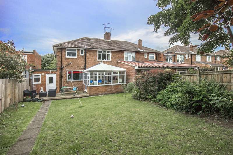 3 Bedrooms House for sale in Burnside Road, Gosforth, Newcastle Upon Tyne
