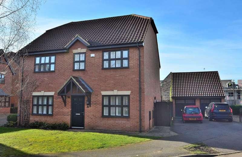 5 Bedrooms Detached House for sale in Malton Close, Monkston