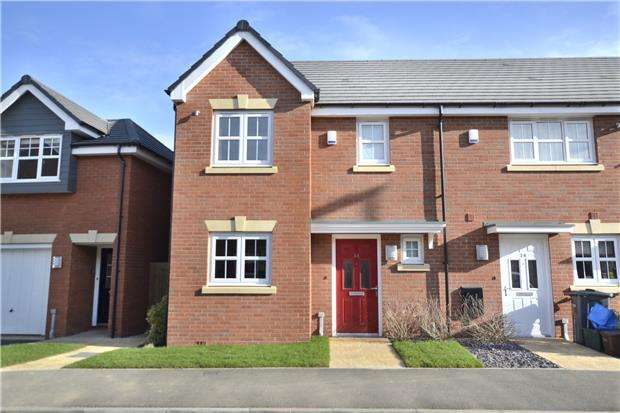 3 Bedrooms End Of Terrace House for sale in Goose Bay Drive Kingsway, Quedgeley, GLOUCESTER, GL2 2EW