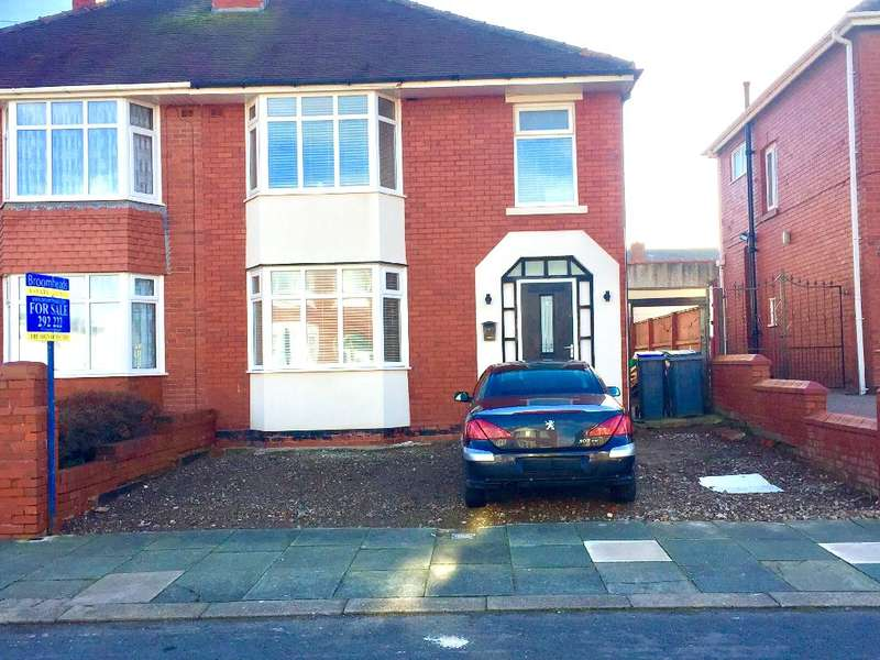 3 Bedrooms Semi Detached House for sale in Norfolk Avenue, BISPHAM, FY2 9QA