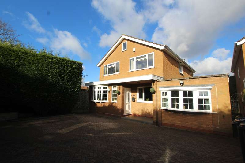 4 Bedrooms Detached House for sale in Tysoe Drive, Sutton Coldfield, B76 2UJ