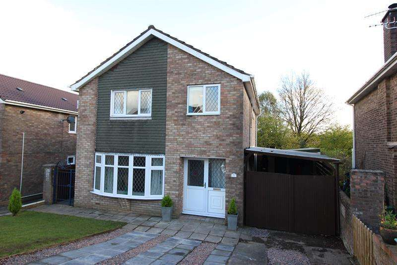 4 Bedrooms Detached House for sale in Monmouth Court, Caerphilly