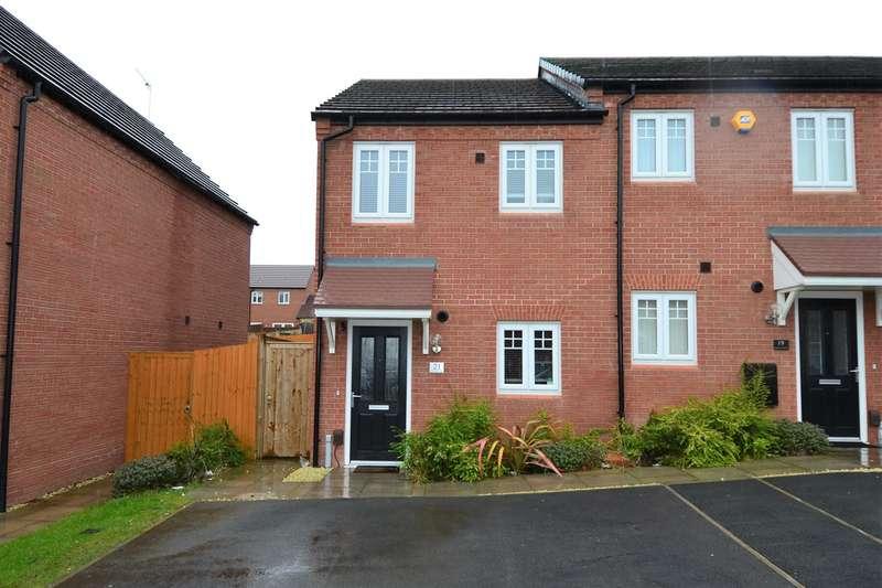 2 Bedrooms End Of Terrace House for sale in Honeysuckle Way, Rednal, Birmingham, B45