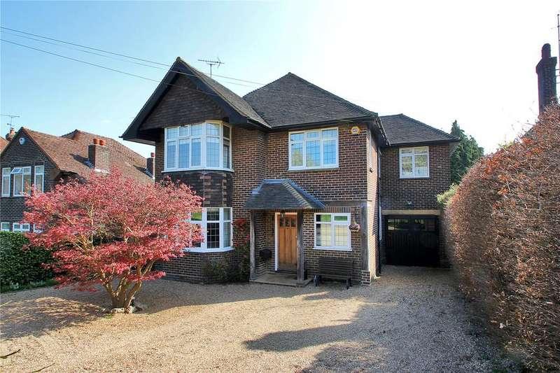 4 Bedrooms Detached House for sale in Barnfield Road, Riverhead, Sevenoaks, Kent