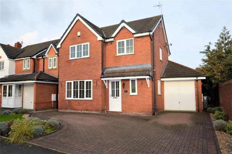 3 Bedrooms Detached House for sale in Loughborough Close, SALE, Cheshire