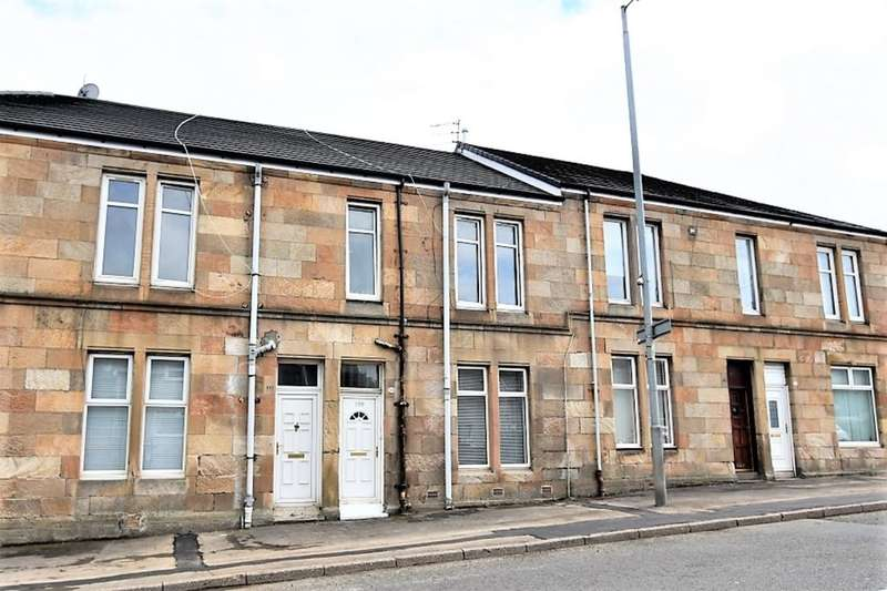 1 Bedroom Flat for sale in Jerviston Street, New Stevenston, Motherwell, ML1
