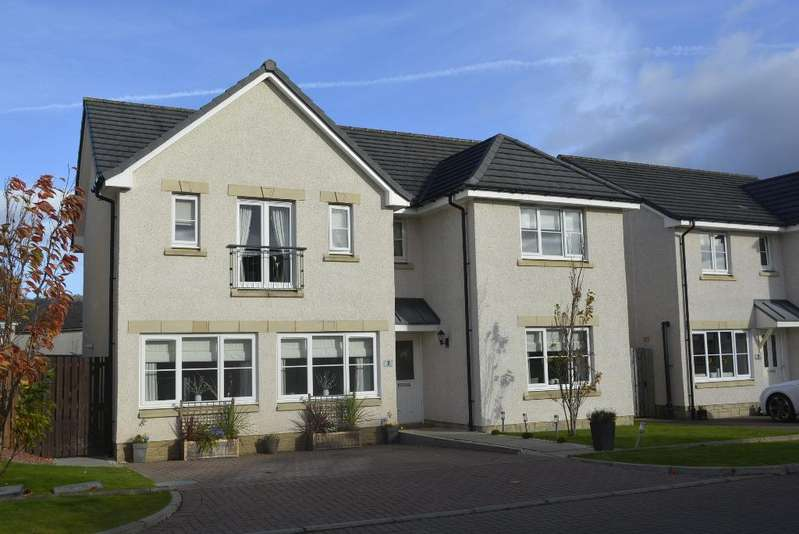 5 Bedrooms Detached House for sale in Galloway Road, Causewayhead, Stirling, FK9 5HT