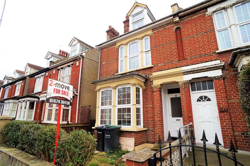 4 Bedrooms Semi Detached House for sale in Old Road West, Gravesend, Kent, DA11