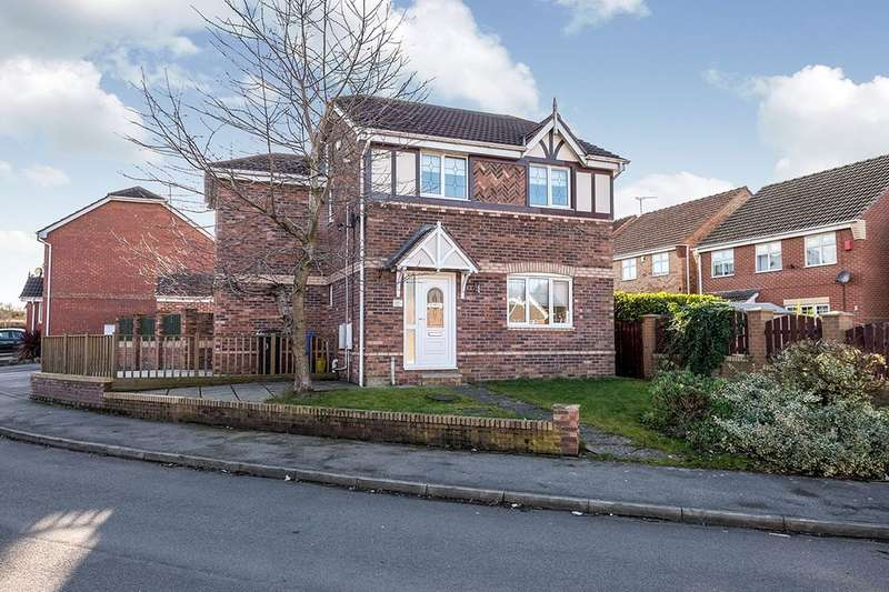 3 Bedrooms Detached House for sale in John Hibbard Avenue, Sheffield, S13