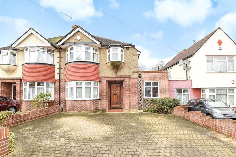 3 Bedrooms Semi Detached House for sale in Worple Way, Harrow, Middlesex, HA2