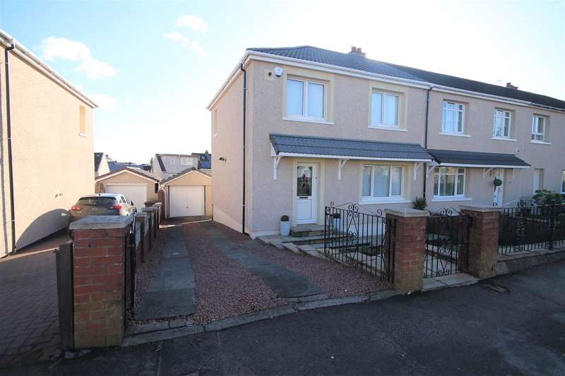 3 Bedrooms Terraced House for sale in Brownshill Avenue, Coatbridge