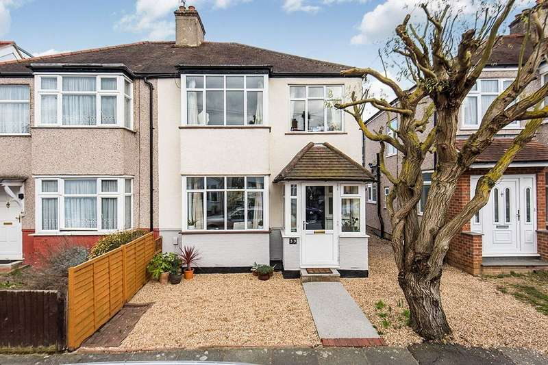 3 Bedrooms Semi Detached House for sale in Alton Gardens, Whitton, Twickenham, TW2