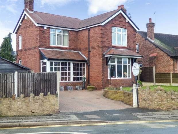 3 Bedrooms Detached House for sale in Heath Road, Sandbach, Cheshire