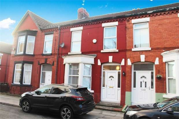 4 Bedrooms Terraced House for sale in Ancaster Road, Liverpool, Merseyside