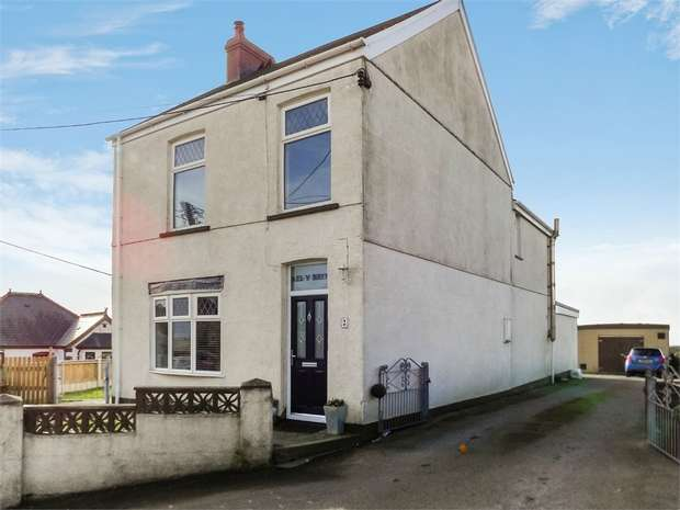 4 Bedrooms Detached House for sale in Heol Llansaint, Llansaint, Kidwelly, Carmarthenshire