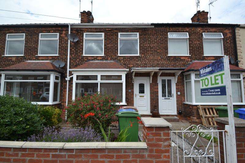 2 Bedrooms Terraced House for rent in Bedford Road, Hessle