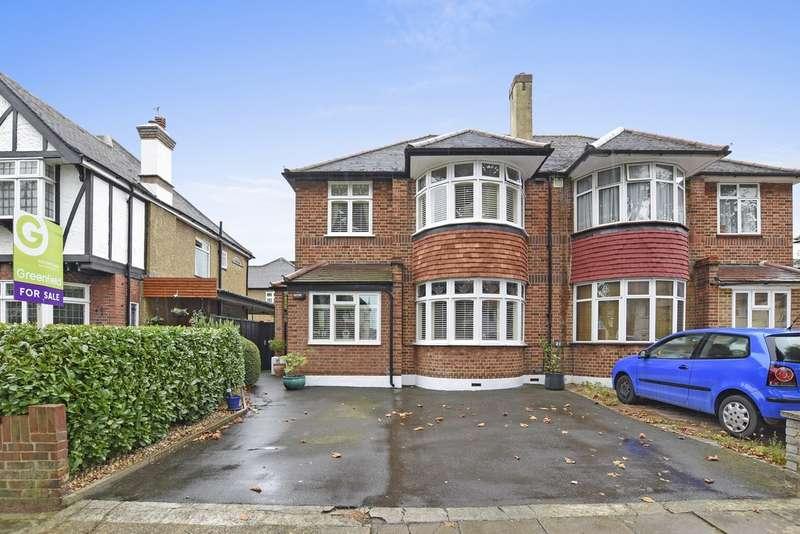 3 Bedrooms Semi Detached House for sale in Elgar Avenue, Surbiton