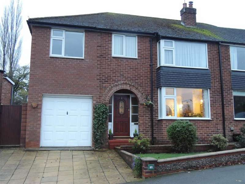 4 Bedrooms Semi Detached House for sale in Faywood Drive, Marple, Stockport