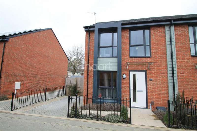 2 Bedrooms Semi Detached House for sale in Padley Close, Bulwell