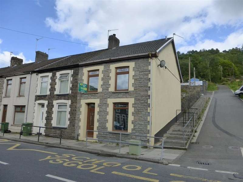 3 Bedrooms End Of Terrace House for sale in Pontshonnorton Road, Pontypridd