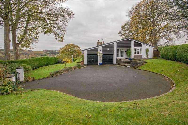 4 Bedrooms Detached Bungalow for sale in Vicarage Road, Rhydymwyn, Mold
