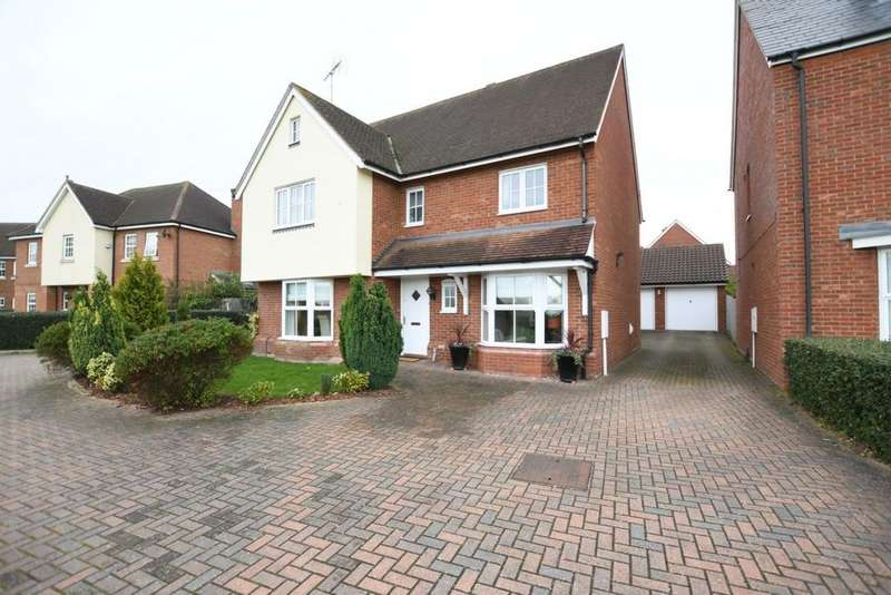 4 Bedrooms Detached House for sale in The Gables, Fyfield Road, CM5