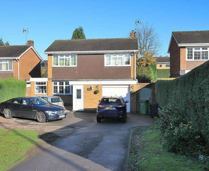3 Bedrooms Detached House for sale in Himley Road, Dudley