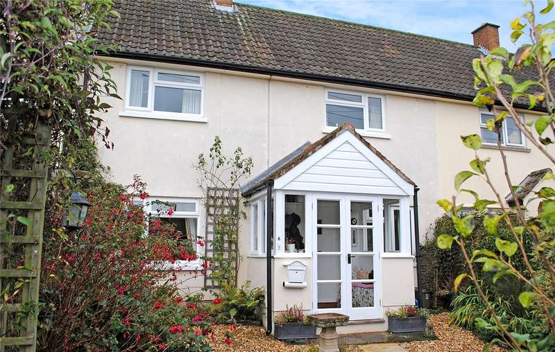 3 Bedrooms Terraced House for sale in Brendon View, Crowcombe, Taunton, Somerset, TA4