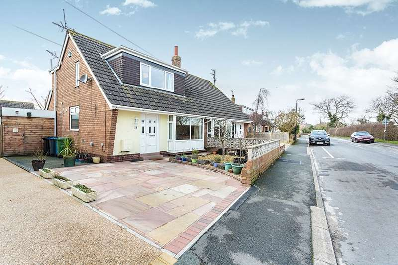 3 Bedrooms Semi Detached Bungalow for sale in Arthurs Lane, Hambleton, Poulton-Le-Fylde, FY6