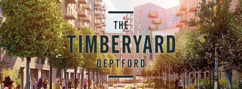 2 Bedrooms Apartment Flat for sale in Cedarwood Mansions, The Timberyard, Deptford
