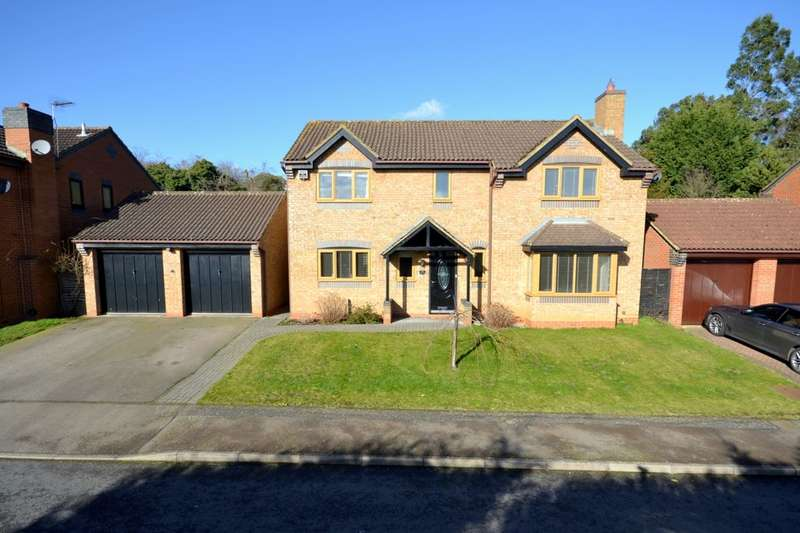 4 Bedrooms Detached House for sale in Tanfield Lane, Rushmere, Northampton, NN1