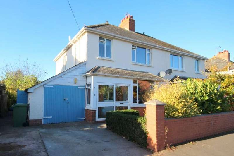 3 Bedrooms Semi Detached House for sale in Liddymore Road, Watchet TA23
