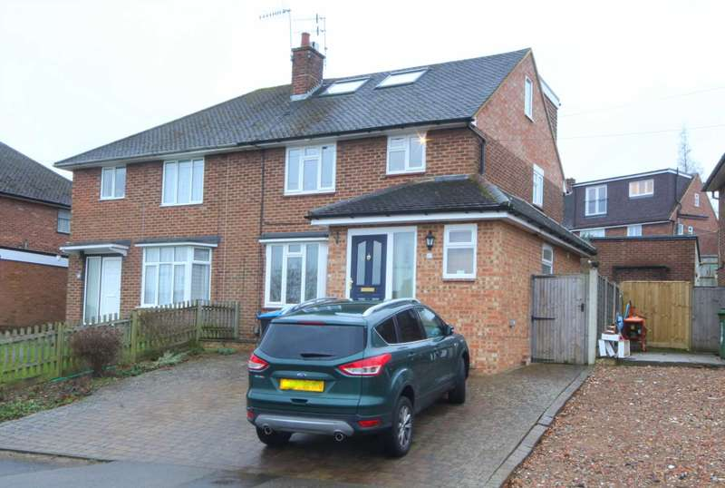 4 Bedrooms Semi Detached House for sale in BERKHAMPSTED - 2 BATHROOMS and GROUND FLOOR WET ROOM - OVER 1300 sq/ft