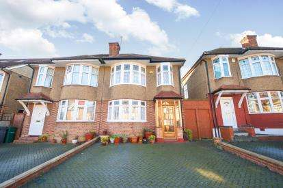 3 Bedrooms Semi Detached House for sale in Pymmes Green Road, Southgate, London, .