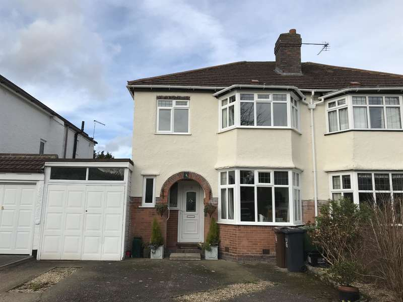 3 Bedrooms Semi Detached House for sale in Cropthorne Road, Shirley, Solihull, West Midlands