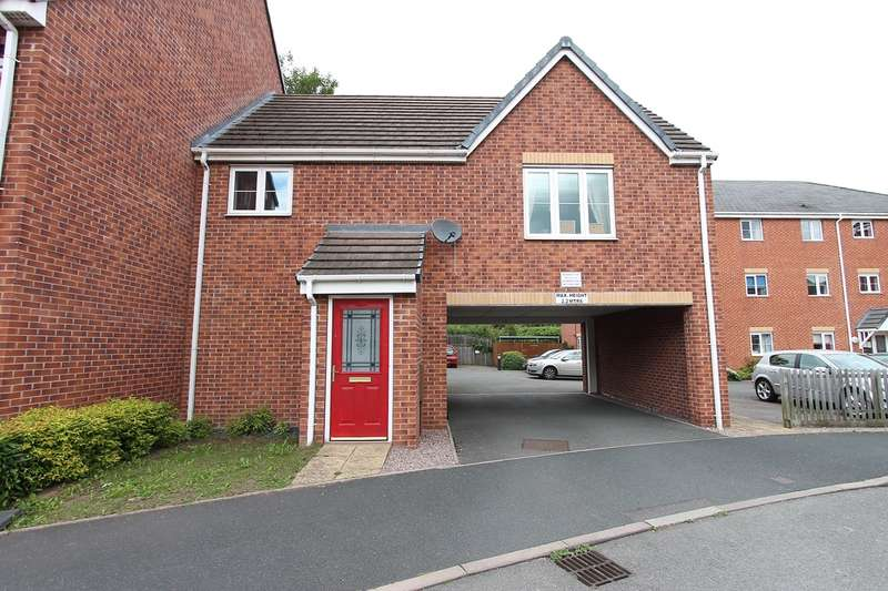 2 Bedrooms Apartment Flat for rent in The Infield, Halesowen, B63