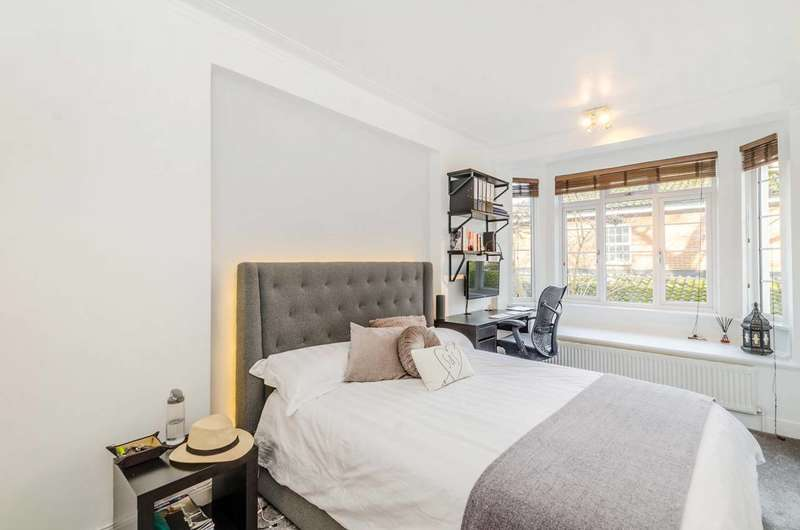 2 Bedrooms Flat for sale in Hillcrest Court, Kilburn, NW2